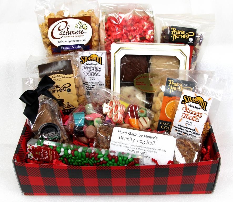Decorative christmas gift box large